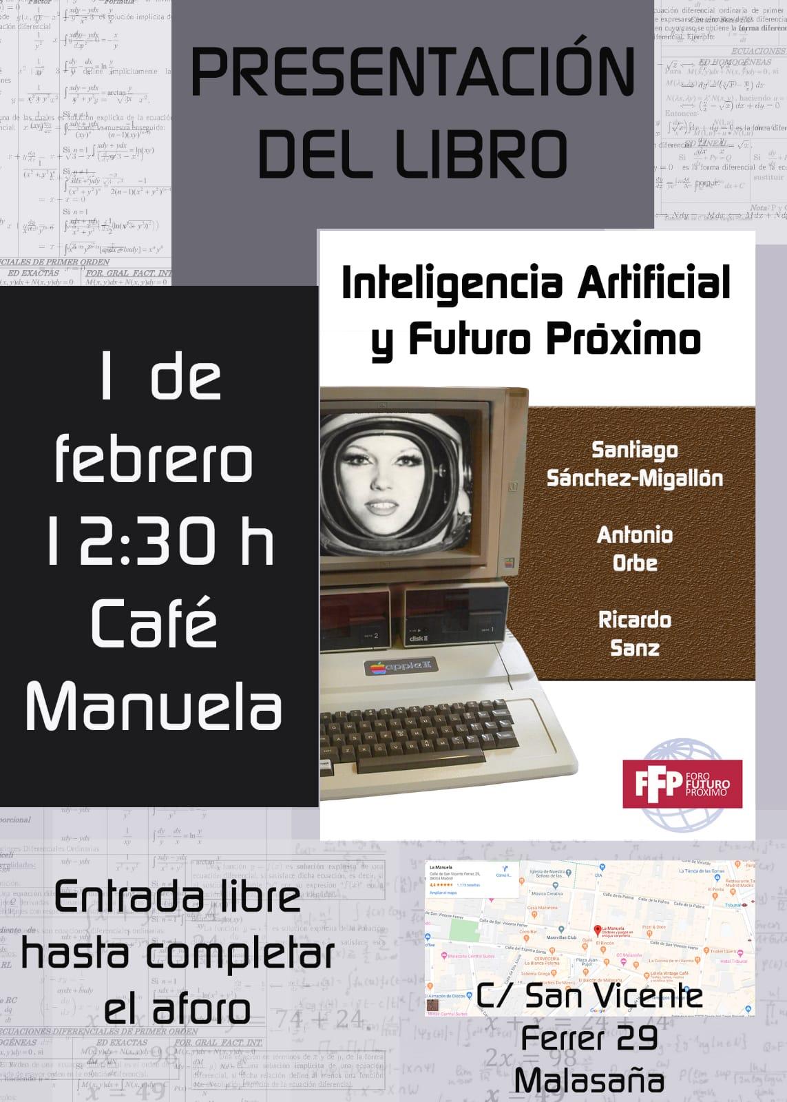 Presentación del libro Inteligencia Artificial y Futuro Próximo